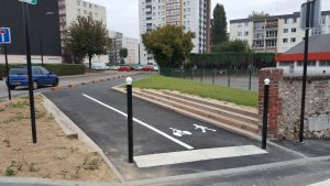 maromme itineraire cyclable le long du cailly